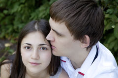 Primo amore Immagini Stock