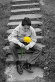 Primo amore attesa Immagine Stock