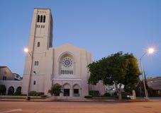 Primo Baptist Church a Pasadena, California, U.S.A. Fotografie Stock
