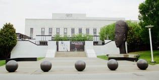 Primo centro per le arti visive, Nashville Tennessee immagini stock