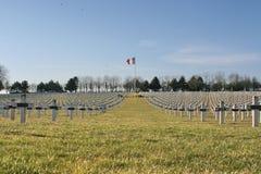 Primo cimitero di guerra mondiale del francese Immagini Stock Libere da Diritti