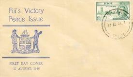 Primo coperchio 1946 di giorno - il Fiji Fotografia Stock