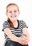 Primo dente mancante Fotografie Stock Libere da Diritti
