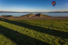 Primo mattino - Alki Beach-2 Fotografia Stock