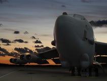 Primo mattino B-52 Immagini Stock Libere da Diritti