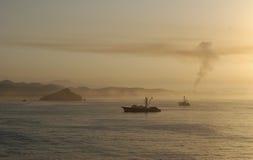 Primo mattino in Mazatlan Fotografie Stock Libere da Diritti