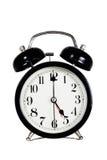 Primo mattino, orologio Immagini Stock
