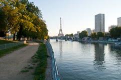Primo mattino a Parigi Fotografie Stock Libere da Diritti
