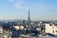 Primo mattino a Parigi Fotografia Stock Libera da Diritti