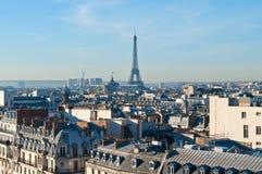 Primo mattino a Parigi Immagini Stock Libere da Diritti