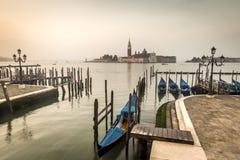 Primo mattino Venezia Italia Fotografie Stock