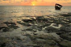 Primo mattino a Zanzibar Fotografia Stock Libera da Diritti