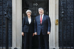 Primo Ministro del Regno Unito Theresa May Fotografia Stock