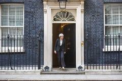 Primo Ministro del Regno Unito Theresa May Fotografie Stock Libere da Diritti