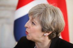 Primo Ministro del Regno Unito Theresa May Immagini Stock Libere da Diritti