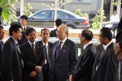 Primo Ministro della Malesia fotografie stock libere da diritti