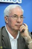 Primo Ministro Mykola Azarov Fotografia Stock