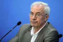 Primo Ministro Mykola Azarov Fotografie Stock Libere da Diritti