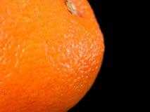 Primo piano arancione Fotografia Stock Libera da Diritti
