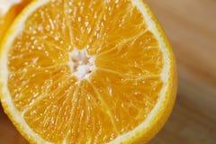Primo piano arancione fresco Immagine Stock