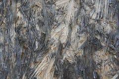 Primo piano astratto di vecchia parete di legno strutturata immagini stock libere da diritti