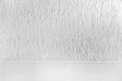 Primo piano bianco del tovagliolo Immagine Stock