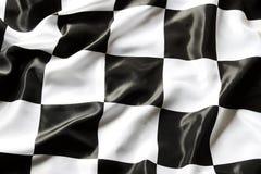 Bandiera Checkered Immagine Stock Libera da Diritti