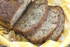 Primo piano casalingo del pane di banana Immagini Stock Libere da Diritti