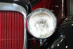 Primo piano classico dell'automobile Fotografia Stock