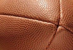 Primo piano, conclusione di gioco del calcio che mostra struttura Fotografia Stock Libera da Diritti