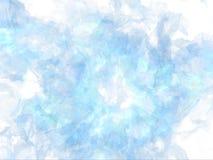 Primo piano congelato di esplosione Immagini Stock