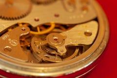 Primo piano d'annata del cronometro fotografie stock