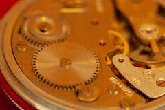 Primo piano d'annata del cronometro fotografie stock libere da diritti