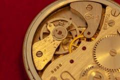 Primo piano d'annata del cronometro immagine stock libera da diritti
