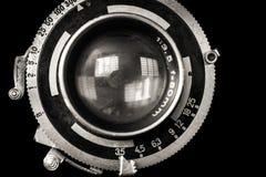 Primo piano d'annata dell'obiettivo Fotografia Stock Libera da Diritti
