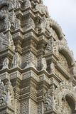Primo piano d'argento del Pagoda, Phnom Penh, Cambogia Immagine Stock
