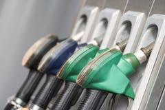 Primo piano degli ugelli del passaggio del gas Immagini Stock