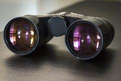 Primo piano dei binocoli da teatro Fotografia Stock