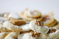 Primo piano dei biscotti Fotografia Stock Libera da Diritti
