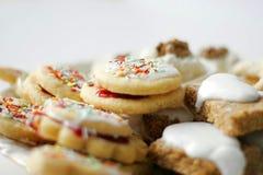 Primo piano dei biscotti Immagini Stock Libere da Diritti