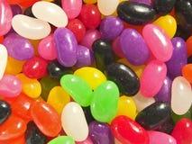 Primo piano dei fagioli di gelatina Fotografia Stock Libera da Diritti