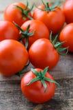 Primo piano dei pomodori Fotografia Stock