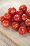 Primo piano dei pomodori rossi freschi Fotografie Stock