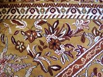 Primo piano dei tappeti persiani Fotografia Stock Libera da Diritti