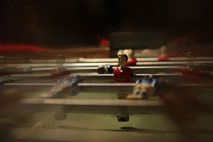 Primo piano del bambino-piede con movimento Fotografia Stock