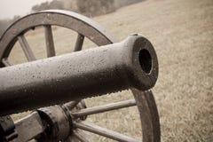 Primo piano del barilotto del cannone Fotografia Stock