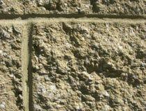 Primo piano del blocco in calcestruzzo Fotografia Stock