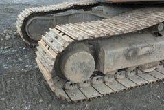 """primo piano del bulldozer del trattore a cingoli del ¿ del ï"""" Fotografie Stock Libere da Diritti"""