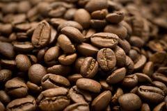Primo piano del caffè del Brown Fotografia Stock