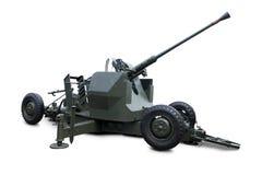 Primo piano del carro armato militare Immagini Stock Libere da Diritti